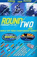 2018 Round 2 Event Flyer Canyon MX