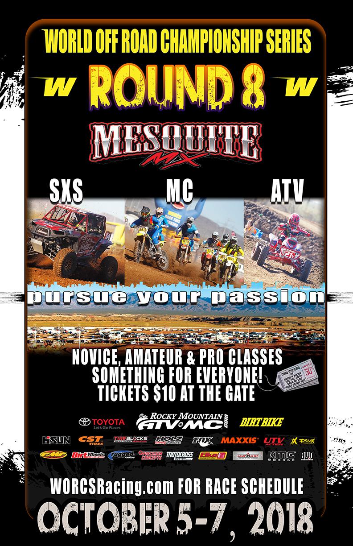 2018 ROUND 8 - MESQUITE MX, MESQUITE, NV