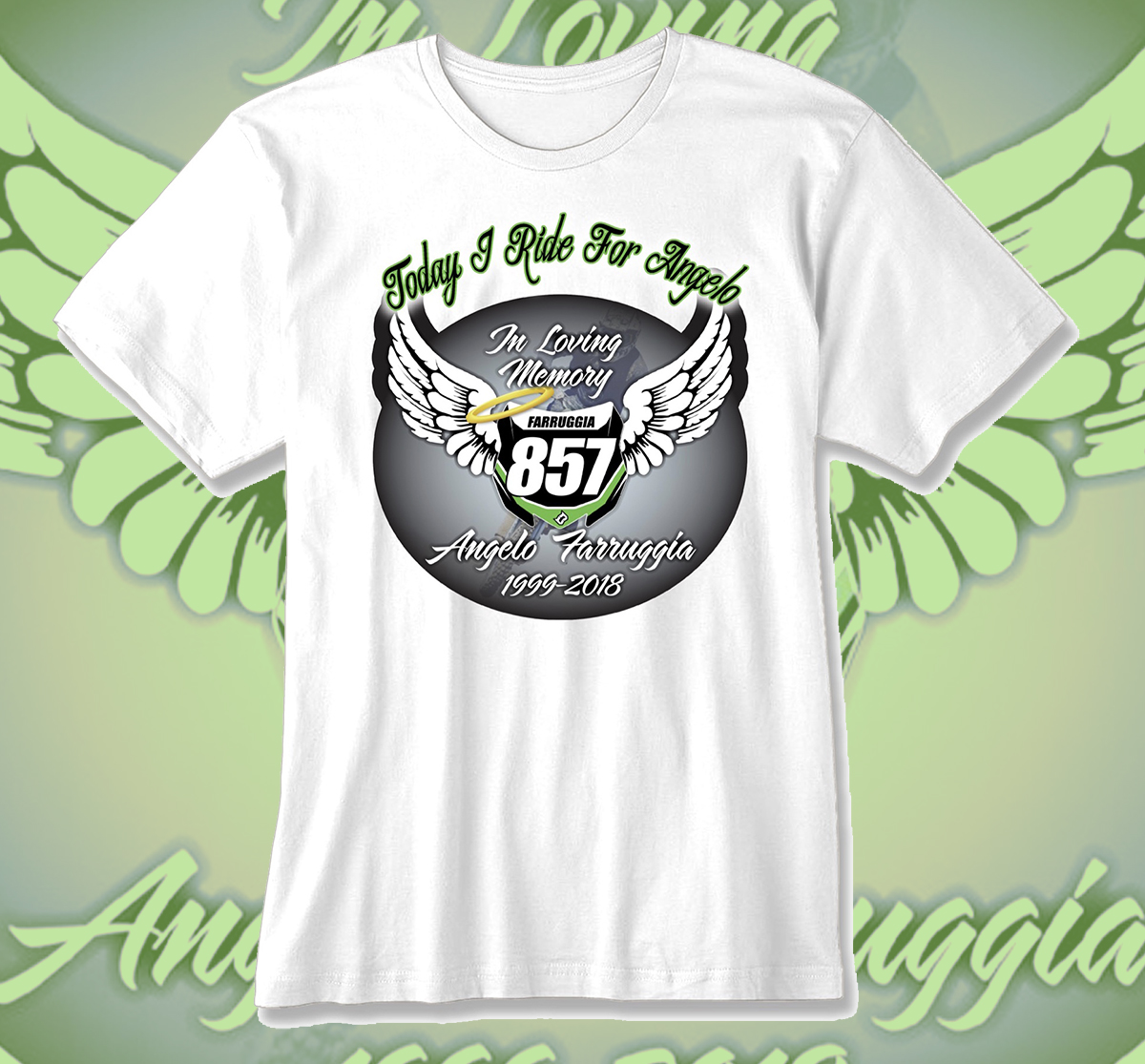 2018 Round 9 Angelo Farruggia Memorial T-Shirt