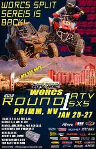 2019 ROUND 1 ATV SXS ONLY PRIMM, NV