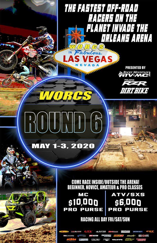 2020 Round 6 Orleans Arena Flyer