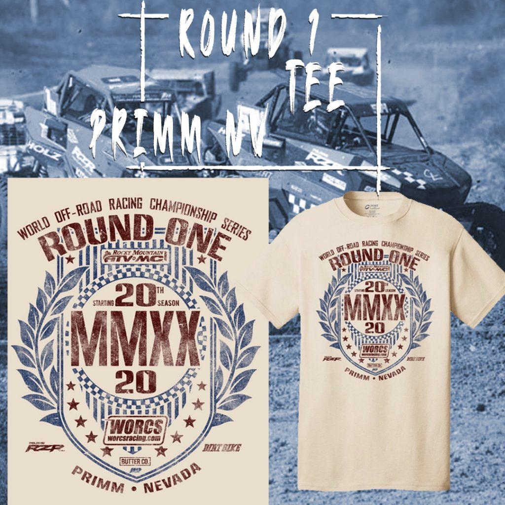 2020 Round 1 ATV SXS T-Shirt