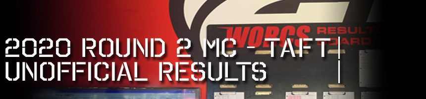 2020 Round 2 MC Unofficial Results Board