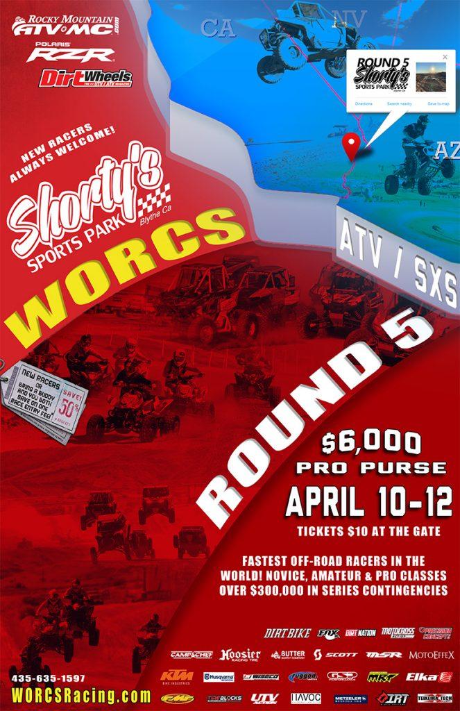 2020 Round 5 ATV SXS Shorty's Sports Park - Blythe, CA