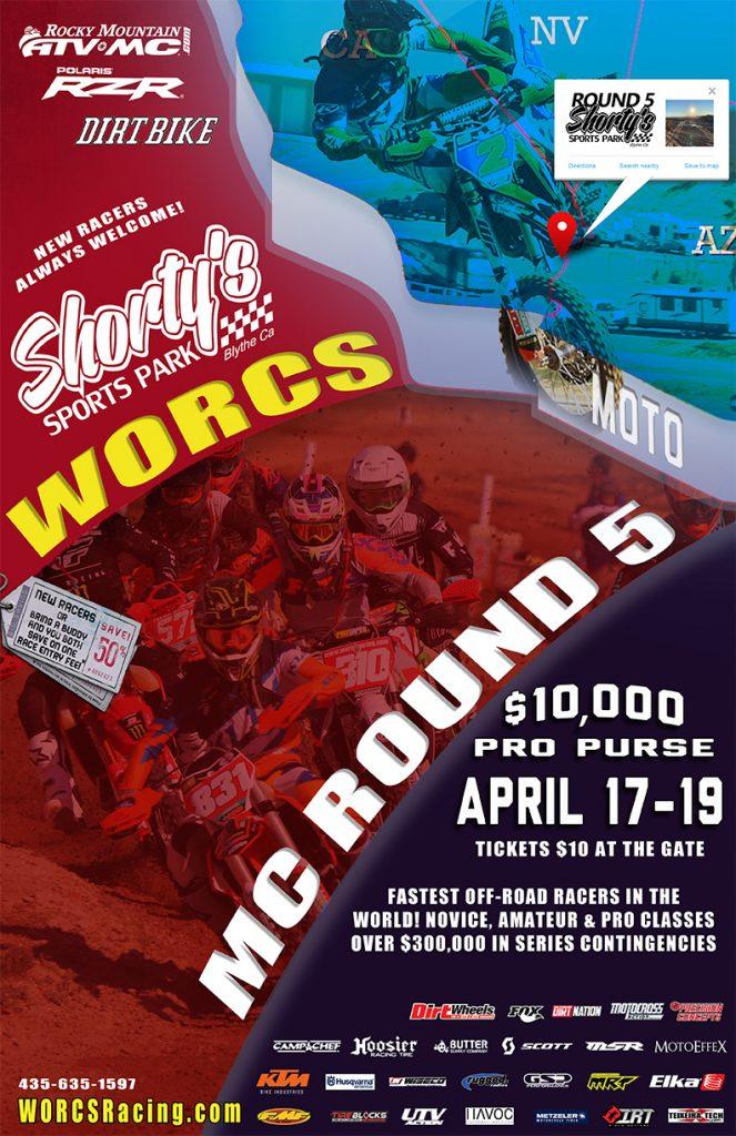 2020 Round 5 MC Shorty's Sports Park - Blythe, CA