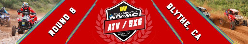 ATV SXS - ROUND 8 - BLYTHE CA