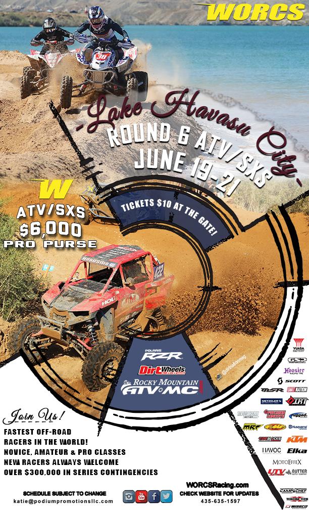 2020 Round 6 ATV SXS Havasu