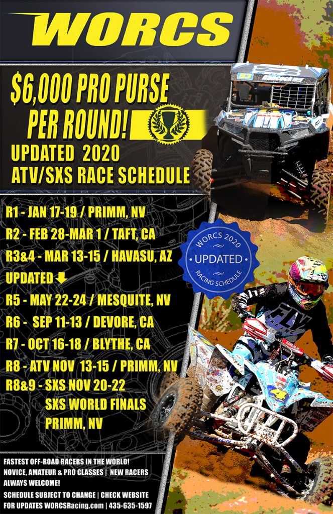 PP 2020 WORCS ATV-SXS Schedule 792x1224 - Updated 6-4-2020
