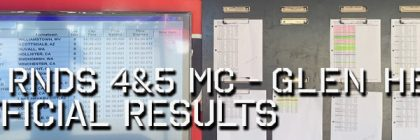 2020 Round 4-5 MC Unofficial Results Board