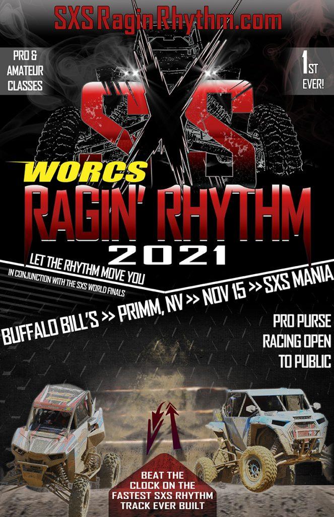 SXS Ragin' Rhythm Flyer