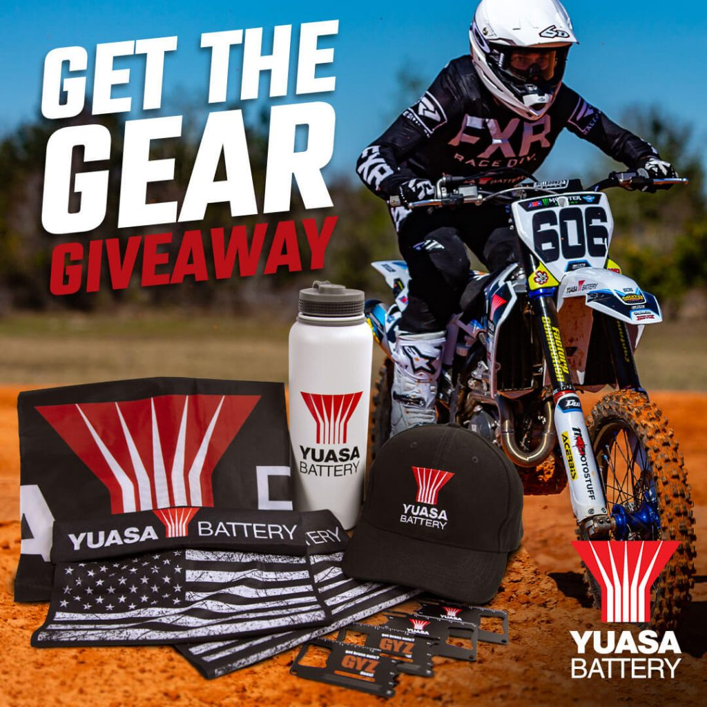 Rounds 4 & 5 with a giveaway from our awesome sponsor @YuasaBatteryUS ADVANCED ENGINEERING, PREMIUM QUALITY, UNMATCHED RELIABILITY. Yuasa is giving away a sweet swag prize pack to the winner. 1-Flask Growler 4-GYZ Battery Multi-Tool 1-Yuasa Hat 1-3x5 Banner 2-Bandanna Buff 1-USB Charger*not pictured