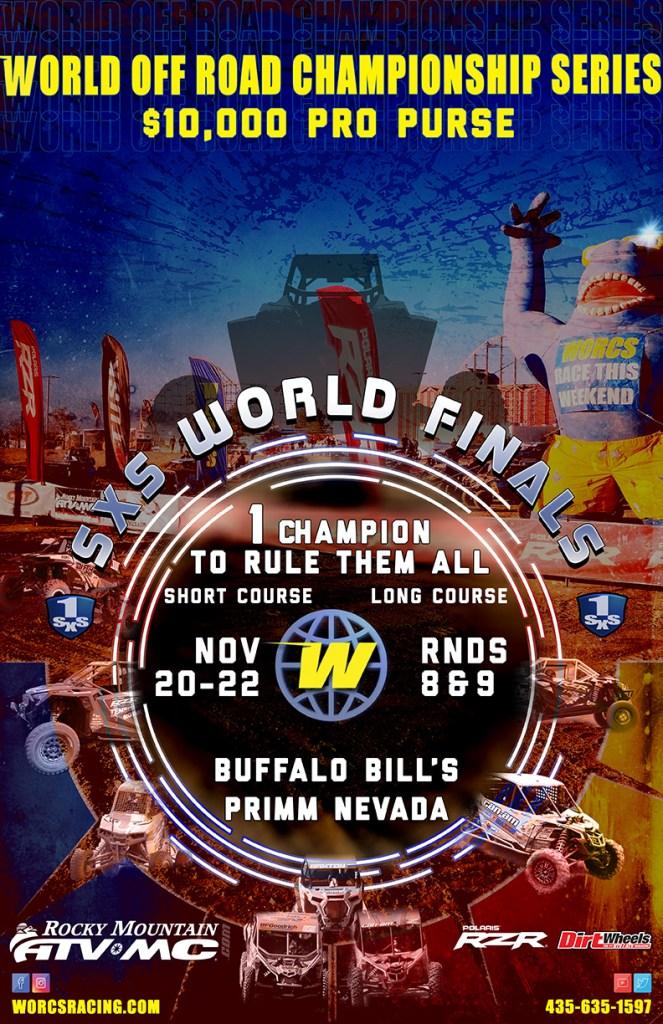 2020 SXS World Finals Event Flyer