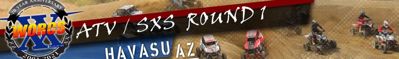 2021 ATV SXS ROUND 1 HAVASU AZ