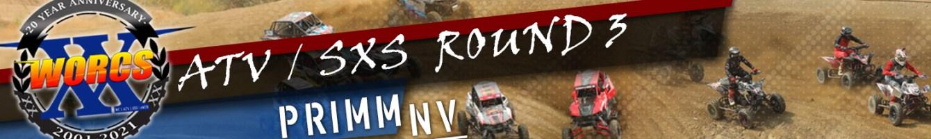 2021 ATV SXS ROUND 3 PRIMM NV